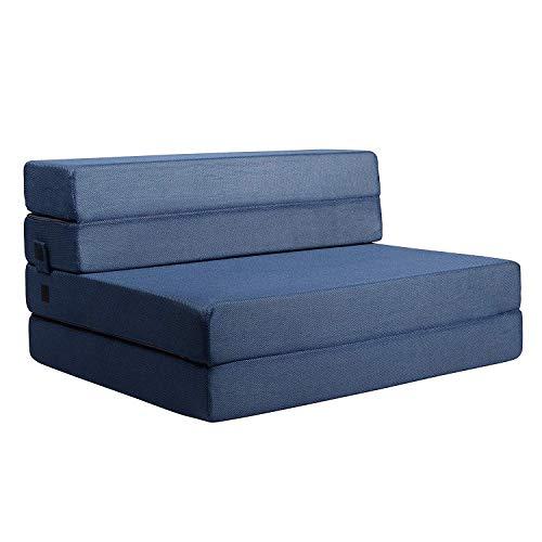Milliard 11,5 cm (190 x 90 cm) Schaumstoff Faltbare Gästematratze/Klappmatratze und Dreifachfaltung Sofabett/Schlafsessel für Gäste