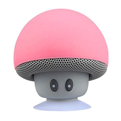 Yihaifu Cartoon Pilz Bluetooth Lautsprecher Saugnapf Telefon Bracket bewegliche im Freien Kleinen Stereo