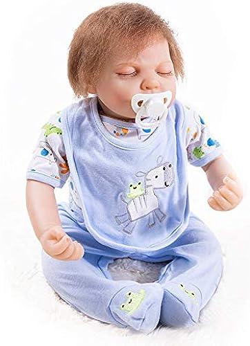 Hongge Reborn Baby Doll, Silikon Vinyl Reborn Baby Doll Realistische mädchen Babys Puppen Lebensechte Prinzessin Kinder Spielzeug Kinder Geburtstag Geschenk 52 cm