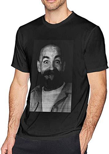 Charles Manson Helter Skelter Einstein LSA O-hals Cool droge T-shirt met korte mouwen Katoen voor mannen