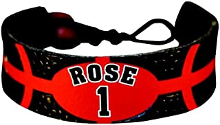Derrick Rose Team Color NBA Jersey Bracelet