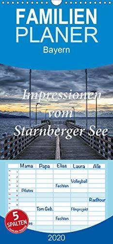 Impressionen vom Starnberger See - Familienplaner hoch (Wandkalender 2020, 21 cm x 45 cm, hoch)