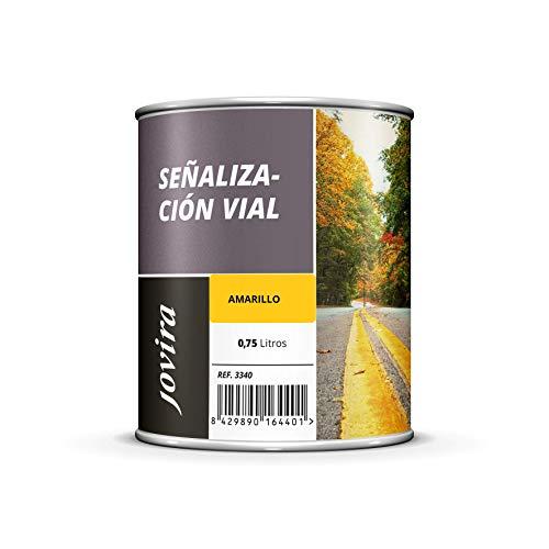 PINTURA SEÑALIZACIÓN VIAL Pintura especial para la señalización horizontal de tráfico. (750 ML, AMARILLO)