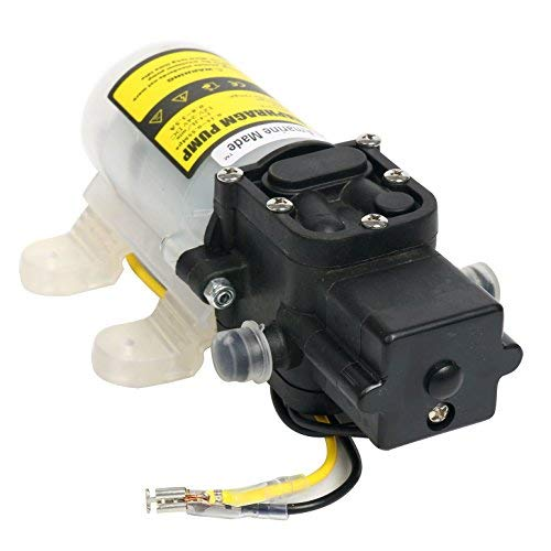 Amarine Made Automatic High Pressure Diaphragm Water Pump DC 12V 3.6L/min for General Industry,Vehicles,Agricultural,Boat