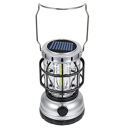 BESPORTBLE Linterna de Emergencia para Acampar Lámpara de Tienda Led Portátil Linterna de Supervivencia USB Lámpara de Linterna de Tormenta para Viajes Aire Libre