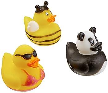 Rhode Island Novelty 2 Inch Rubber Duck Assortment  100 Piece
