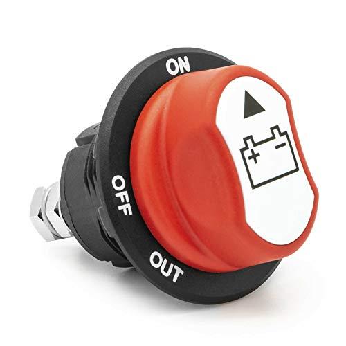 Séparateur de batterie de voiture - Interrupteur principal de 100 A - Pour moto, camion, bateau