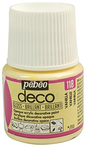 Pébéo Deco Peinture 45 ml Brillant Vanille 092118