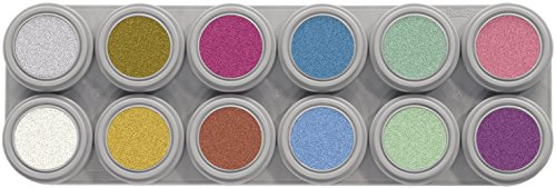 Grimas Pearl Water Make up 12 Farben Palette