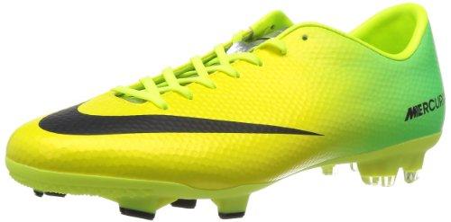 Nike Mercurial Victory 4 FG 555613380, Football Homme, Vert, 44