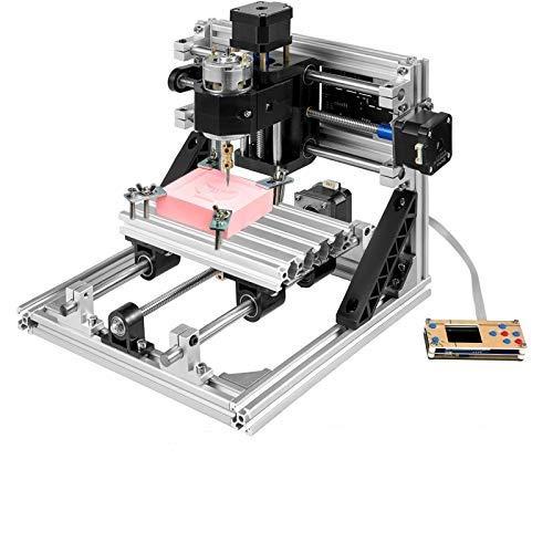 Moracle Fresadora CNC 3018 Máquina de Grabado de 3 Ejes Fresadora Kit de Enrutador CNC Herramienta de Grabado de Bricolaje con Control Sin Conexión
