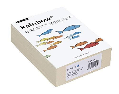 Rainbow Kopier-Papier A5, 80 g/qm, 500 Blatt, hellchamois