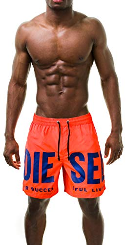 Diesel Herren Badeshorts Wave Mohawk, Royal, Medium