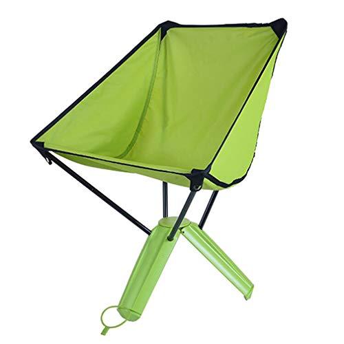 SZP Chaise Pliante extérieure, Chaise de Triangle de Tasse d'eau, Chaise de pêche de Pique-niquer Portable Barbecue, approprié pour Le Tourisme Alpinisme Voiture de Plage spécial,Green