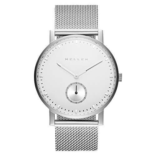 Meller - Maori Dag Silver - Reloj analógico minimalista unisex
