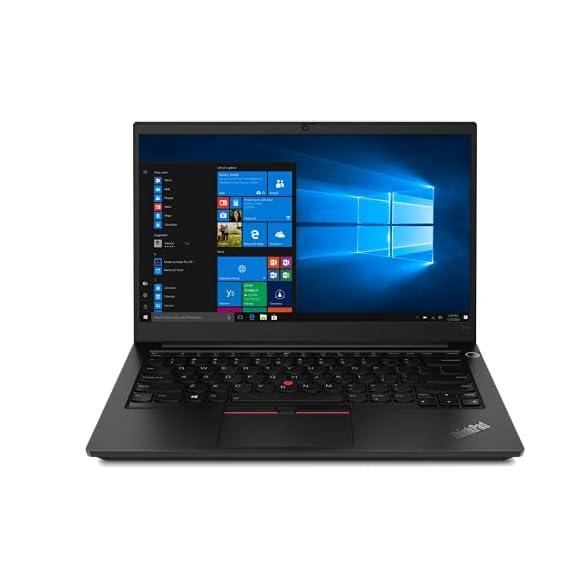 Lenovo ThinkPad E14 (2021) AMD Ryzen 5 4650U Pro 14-inch Full HD Thin and Light Laptop (8GB RAM/ 256GB SSD/ Windows 10 Home/ Microsoft Office Home & Student 2019/ Black/ 1.59 kg), 20T6S0UQ00