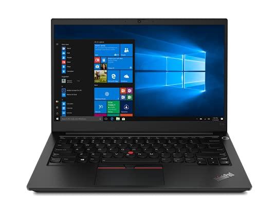 Lenovo ThinkPad E14 (2021) AMD Ryzen 5 4650U Pro 14-inch(35.5 cm) Full HD Thin and Light Laptop (8GB RAM/ 256GB SSD/ Windows 10 Home/ Microsoft Office Home & Student 2019/ Black/ 1.59 kg), 20T6S0UQ00