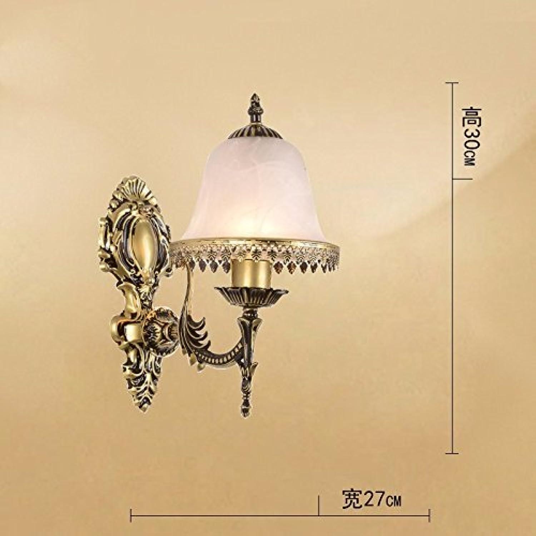Im europischen Stil Wandleuchte minimalistischen creative Lounge Das Schlafzimmer Nachttisch Lampe in das Licht der Antike treppen Flure Wand blinken die Leds Light Serie
