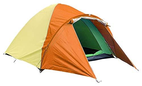 pwmunf Tienda de campaña para Acampar al Aire Libre Configurar fácilmente Playa Plegable portátil Viajando Senderismo Sombrilla de Sol Impermeable (Color : Orange)
