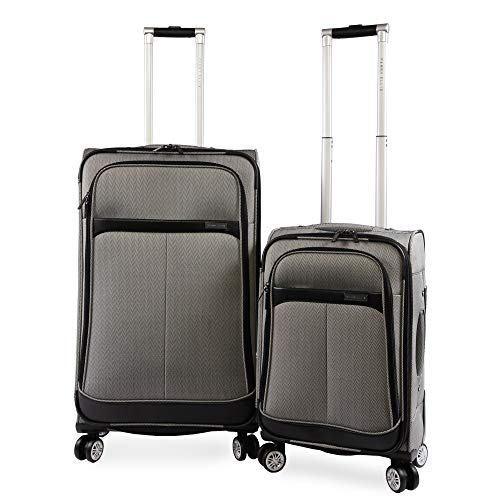 PERRY ELLIS 2 Piece Marquis Spinner Luggage Set