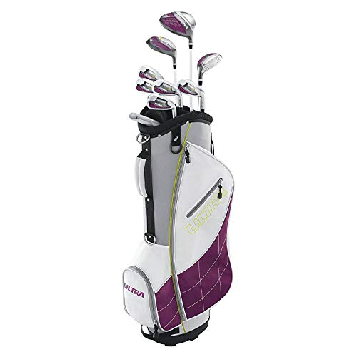 Wilson Ultra Ladies Right-Handed Super Long Golf Club Set with Cart Bag