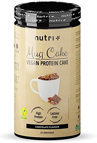 PROTEIN MUG CAKE Tassenkuchen Vegan Schokolade - 6x mehr Eiweiß als normale Schoko Tassenküchlein - MugCake Chocolate Cup - Backmischung für die Mikrowelle - Schokoladenkuchen