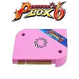 TAPDRA Arcade Jamma Board Pandora Box 6 3A 1300マルチゲームアーケードマシンアクセサリDIYキットを備えた サポートゲームの追加、LCD、VGA