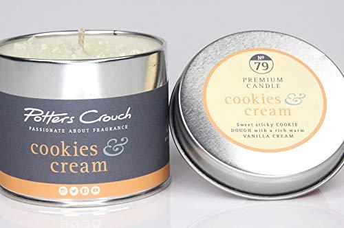 Potters Crouch Moule à Bougie en métal Motif Cookies et crème