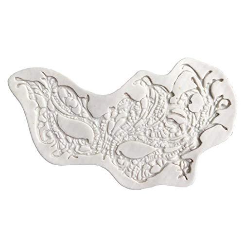 3D Mold - Cake Docorating Masquerade Masker Silicone Mold Fondant Sugarcraft Snoep Chocolade Gumpaste Mould - Ronde Vierkante vorm Zeemeermin Eenhoorn Rechthoek Vrouwen Hartvormen Metaal Gezond Laat