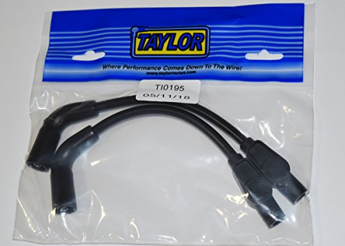 JBSporty Black Taylor short Wires for Coil relocate Harley Davidson Sportster, Nightster, 72, 48 Iron Roadster 883 1200