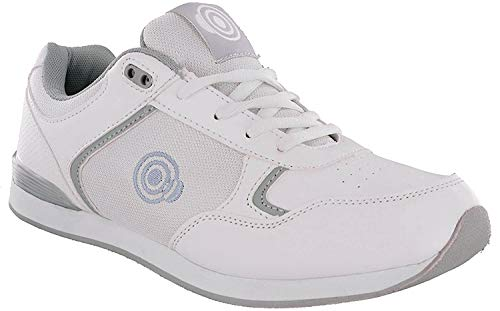 Dek Drive & Jack Herren Bowling-Schuhe, Weiß - White - Lace up - Größe: 39.5