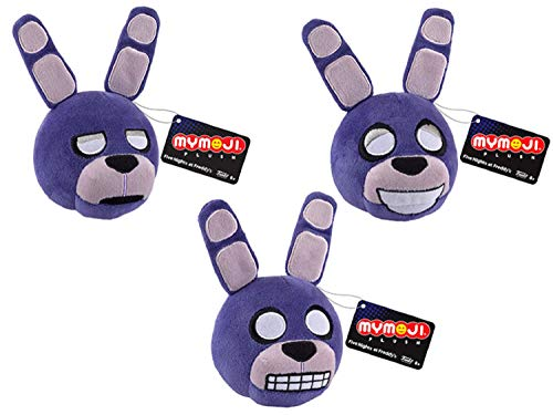 FIVE NIGHTS AT FREDDY'S Funko Nightmare MyMoji 3 Pack Plush, All Three Different Emoji Expressions (Bonnie) …