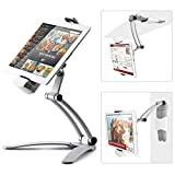 Kitchen Tablet Mount Stand iKross 2-in-1 Kitchen Wall/CounterTop...