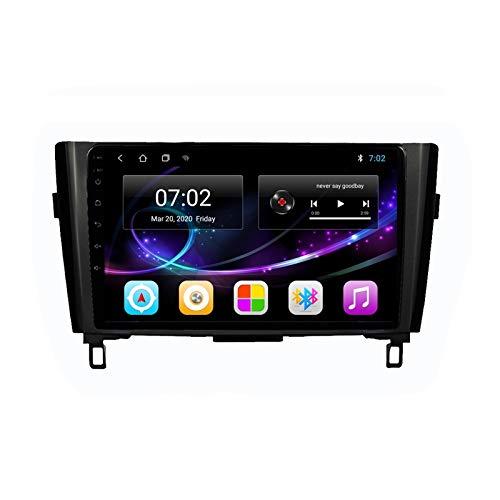 2 DIN Android Radio Coche Autoradio, con HD Pantalla Táctil, Soporte Bluetooth Manos Libres/Mirror Link/FM/1080P Video/USB, para Nissan X-Trail Qashqai J11 2013-2016,Quad Core,4G WiFi 2+32
