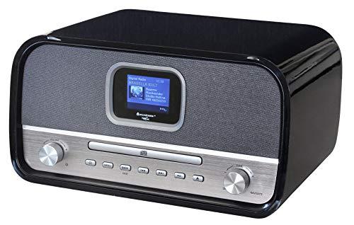 Soundmaster DAB970SW Stereo Musikcenter mit DAB+/UKW, CD-MP3, USB, Bluetooth und Farbdisplay