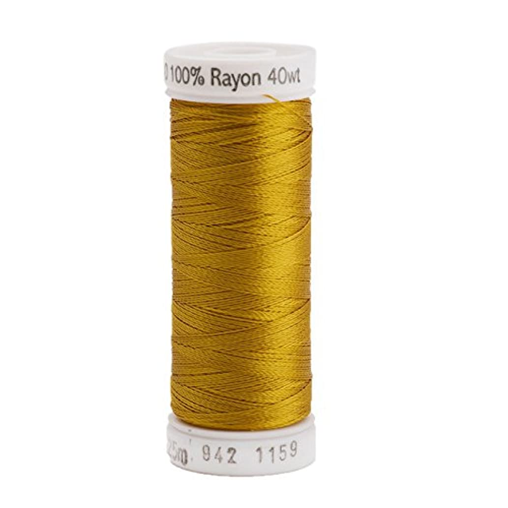 Sulky Rayon Thread for Sewing, 250-Yard, Temple Gold