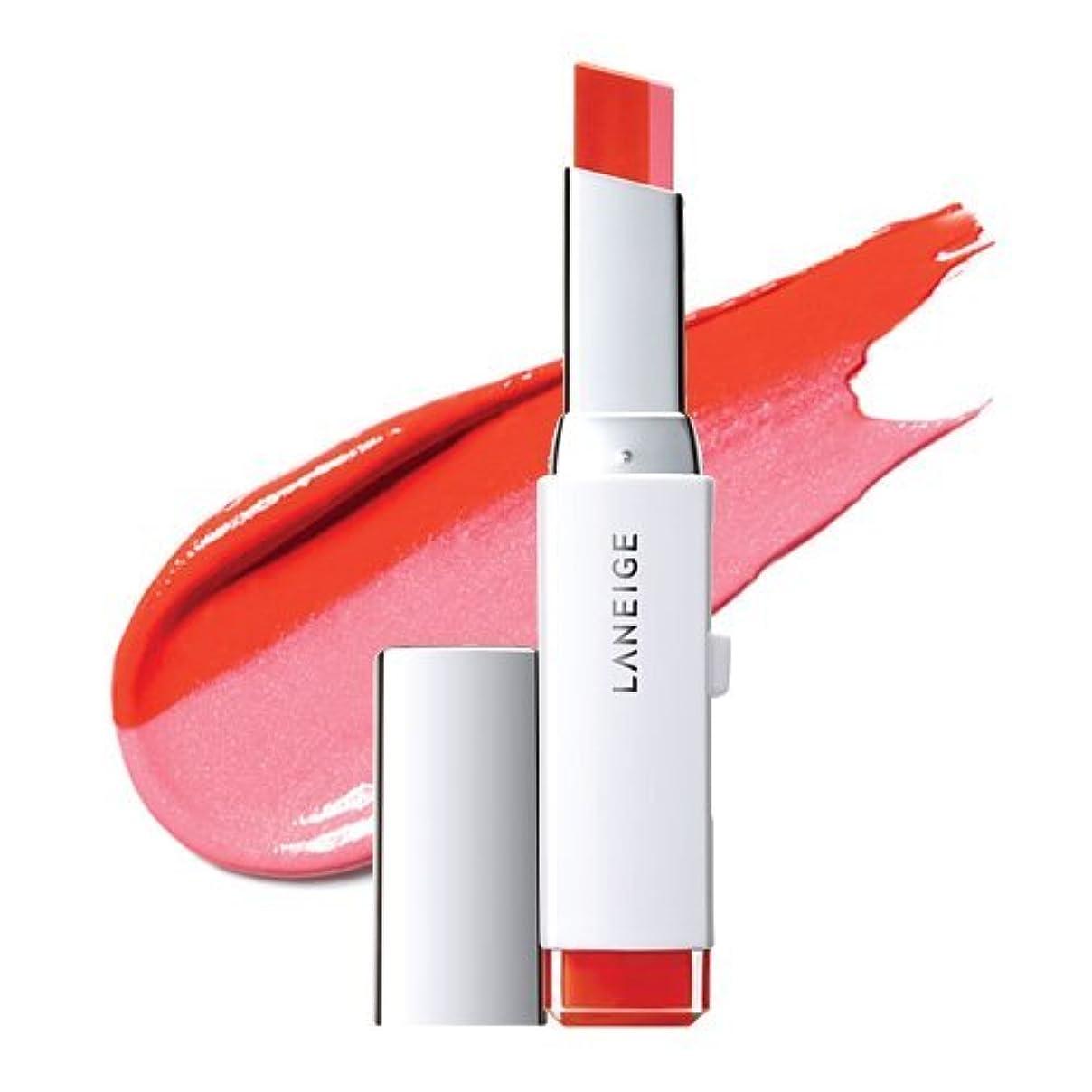 くびれた真空軽量LANEIGE Two Tone Lip Bar 2g (#3 Pink Salmon)