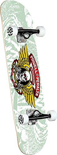 Powell Skate Complete Peralta: Winged Ripper White 8.0