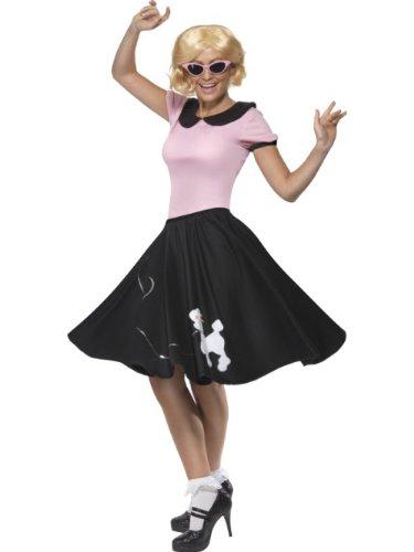 Smiffy's - Disfraz de rock n'roll de los años 60 para mujer