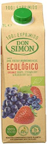 Don Simón - Zumo Uva, Fresa y Arándano Ecológico - 1 L