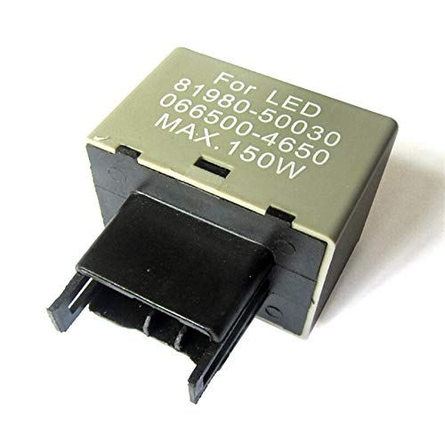 Lanrui 8 Pin LED Toyota Flasher Relay Ajustable Flasher Flasher Relay para Toyota Turn Sign Sign Blinker Corta Coche Japonés Automóvil Accesorio