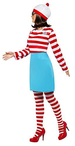 Smiffys 39504 - Disfraz de Wally para mujer, talla 48-50/X1 EU ...