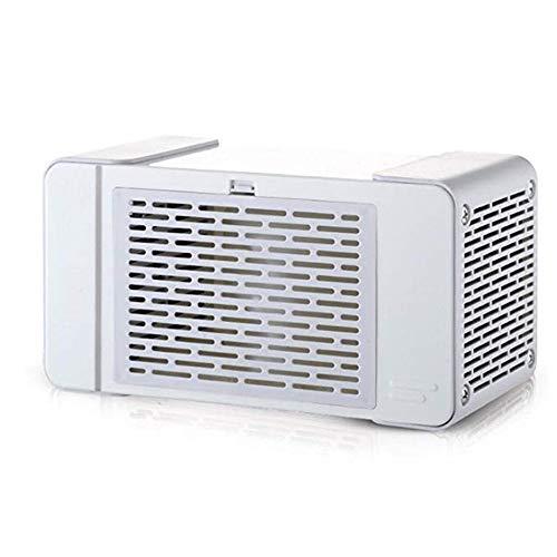 Mini-ventilator, draagbaar, draagbare ventilator, draagbaar, met USB-ventilator, kleine verlichting uit de lamp.