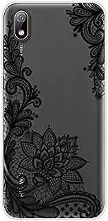 Urhause Funda para Huawei Y5 2019 Carcasas Transparente Dibujos Diseño Case Ultrafina Suave Silicona TPU 360 Grados Anti-G...