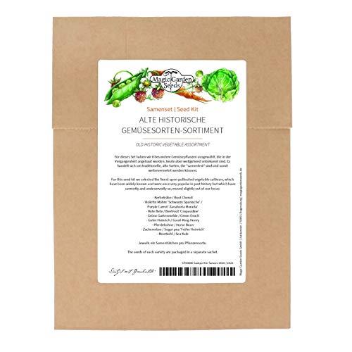 Hortalizas históricas - kit de semillas con 8 verduras menos conocidas