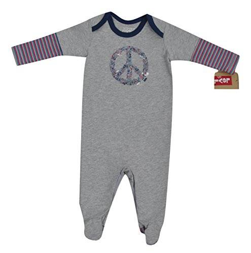 Levi's Baby Baby Jungen (0-24 Monate) Sweatjacke Grau grau, Grau 74