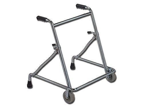Gima, Andador con ruedas, altura ajustable, carga máxima 100kg