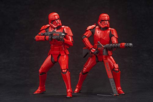Kotobukiya Star Wars: The Rise of Skywalker Sith Trooper ArtFx+ 2-Pack Figura Set
