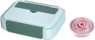 FEIGAO Lunch Box,304 Acier Inoxydable+PP Bento Box,Rangement Et Organisation De Cuisine,Leakproof,Grande Capacité(1200ml 2...