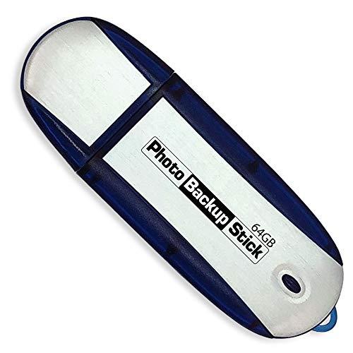 Paraben Photo Backup Stick 64 GB - Palo de fotos para hacer copias de seguridad de tus fotos y vídeos desde iPhone, Android, tabletas y ordenadores